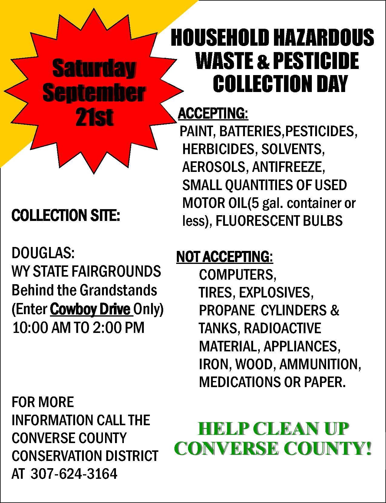 Hazardous Waste Flyer 2019